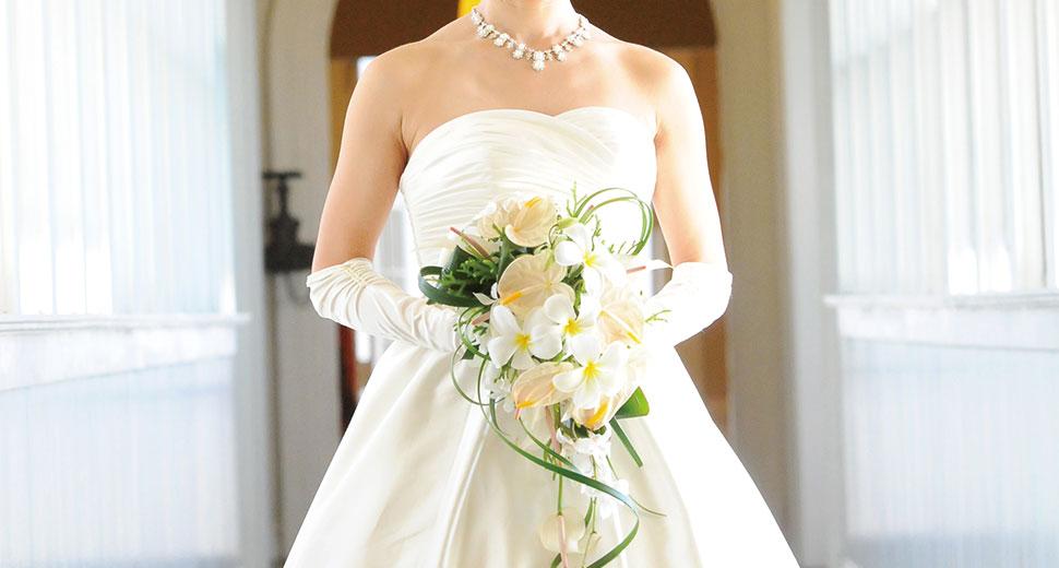 美しい体型の花嫁